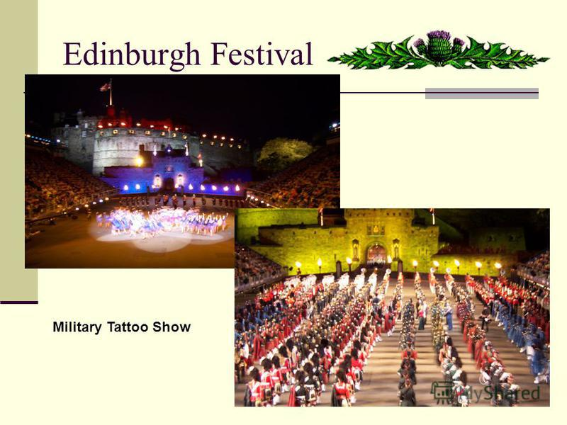 Edinburgh Festival Military Tattoo Show