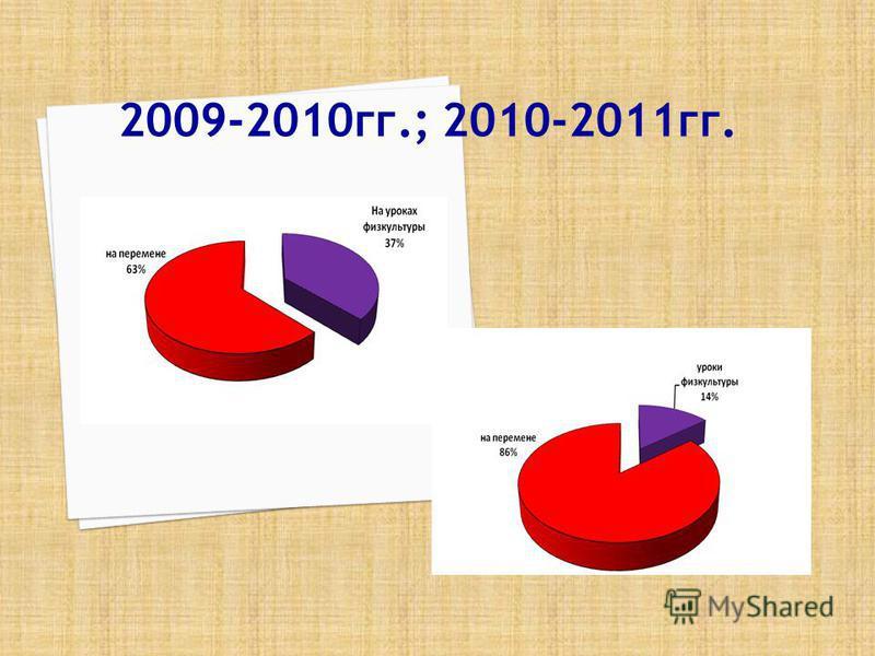 2009-2010 гг.; 2010-2011 гг.