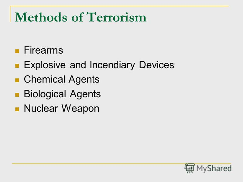 the methodology of terrorism Research on terrorism has long been criticized for its inability to overcome enduring methodological issues these include an overreliance on secondary sources and the associated literature review methodology, a scarcity of statistical analyses, a tendency for authors to work alone rather than.