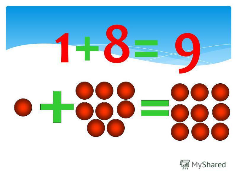 1+8= 9