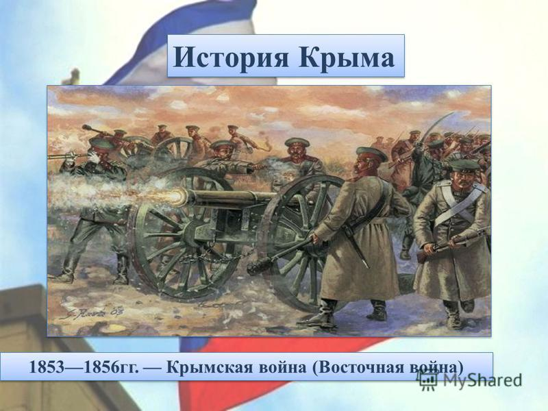 18531856 гг. Крымская война (Восточная война)