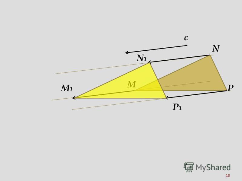 13 c N M P N1N1 M1M1 P1P1