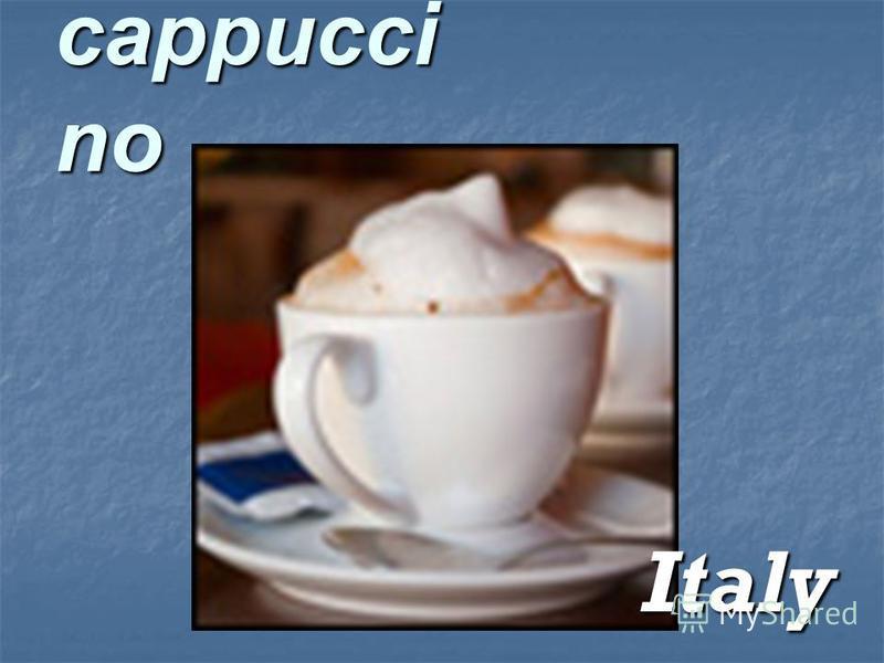 cappucci no Italy