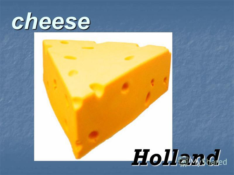 cheese Holland