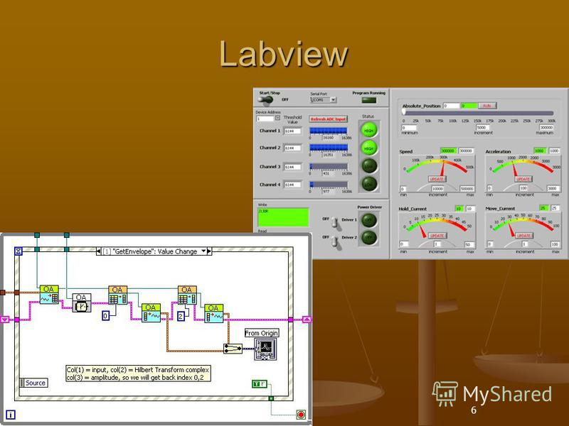 6 Labview