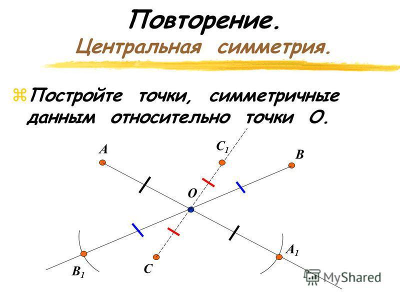 Ответьте на вопросы: zВzВ какую фигуру отобразился треугольник? zВzВ какую фигуру отобразилась трапеция? Сохранилось ли расстояние между точками?