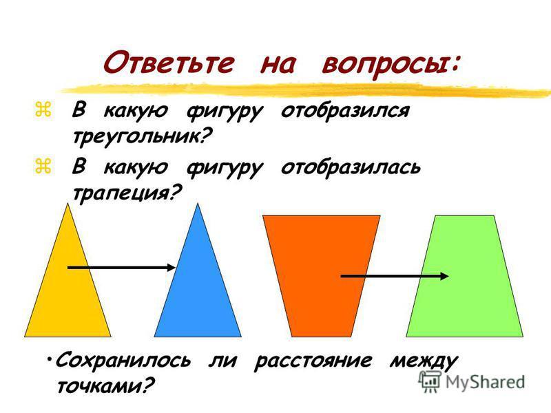 Повторение. Центральная симметрия. z Постройте фигуры, симметричные данным относительно точки О. Вариант 1. 2Вариант 2. 2 F KL CD N M О О