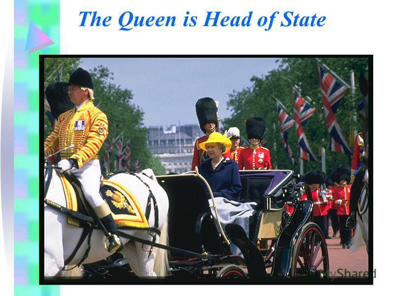 The Queen is Head of State