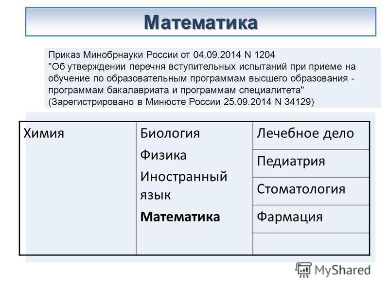 Приказ Минобрнауки России от 04.09.2014 N 1204