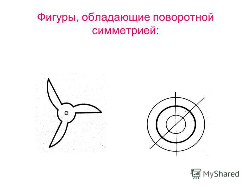 Фигуры, обладающие поворотной симметрией: