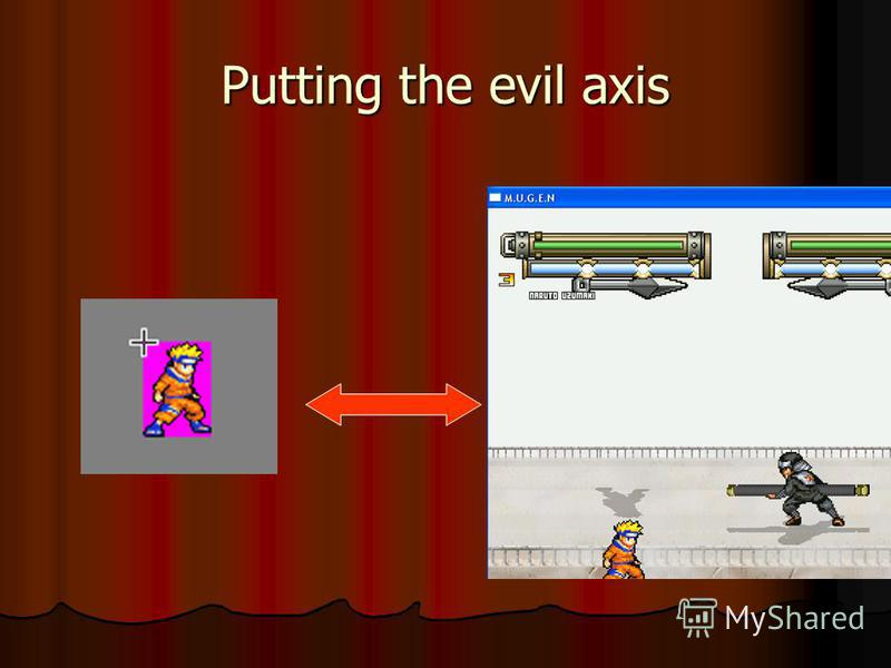 Putting the evil axis