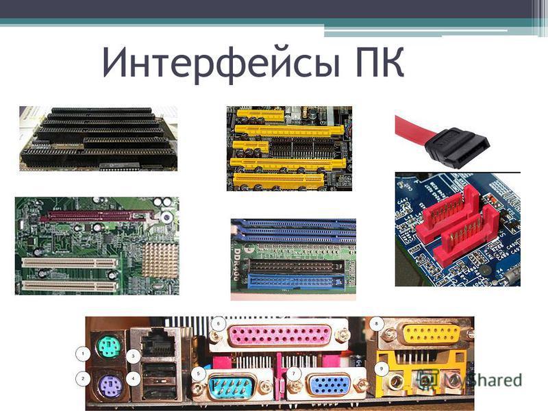 Интерфейсы ПК
