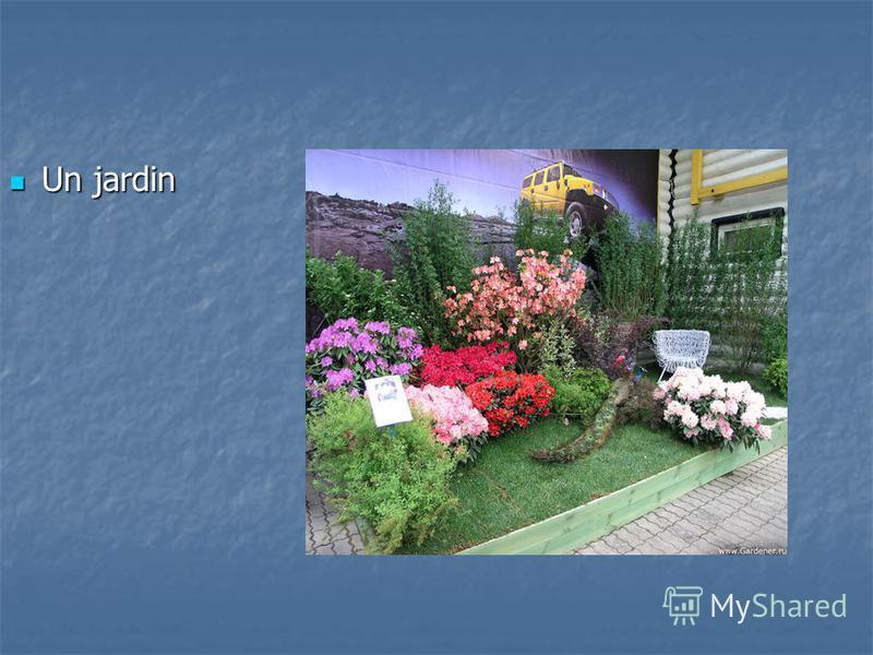 Un jardin Un jardin