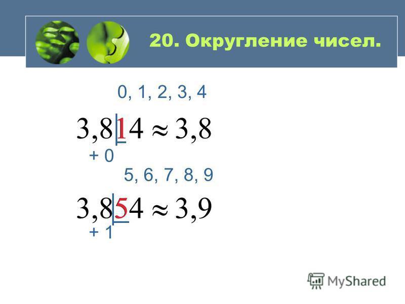 Чтобы разделить число н а десятичную дробь … 8, 31 м : 3 = 831 см : 3 = = 277 см = 2,77 м 2, 16 : 4 = 0, 54 2,88 : 0,8 = 28,8 : 8 = 3,6 4,5 : 0,125 = 4500 : 125 = 36 19. Деление десятичных дробей