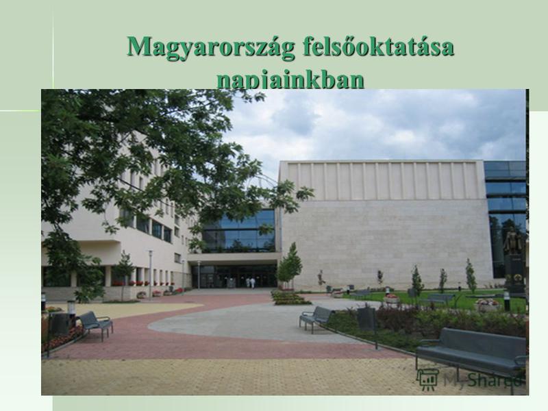 Magyarország felsőoktatása napjainkban