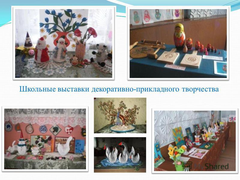 Школьные выставки декоративно-прикладного творчества