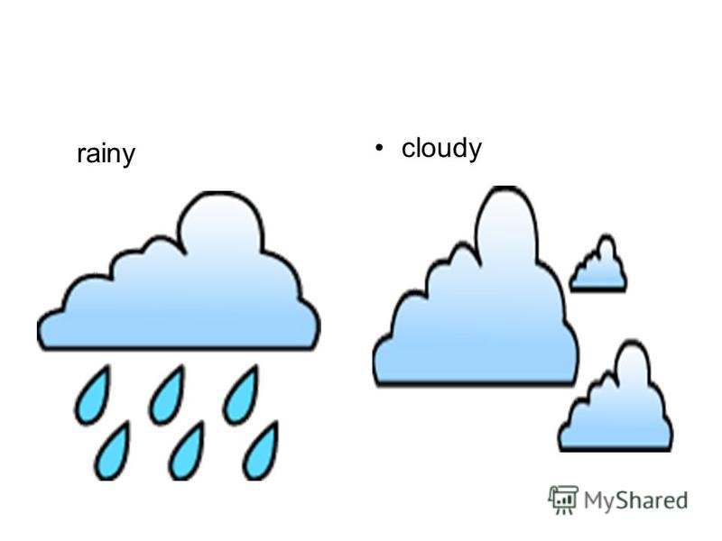 cloudy rainy