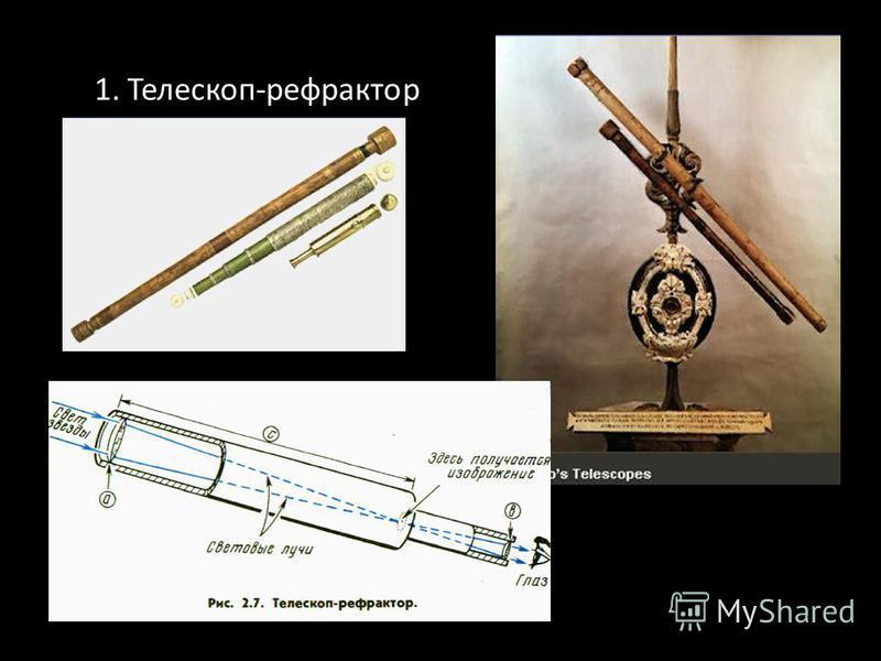 1. 1. Телескоп-рефрактор