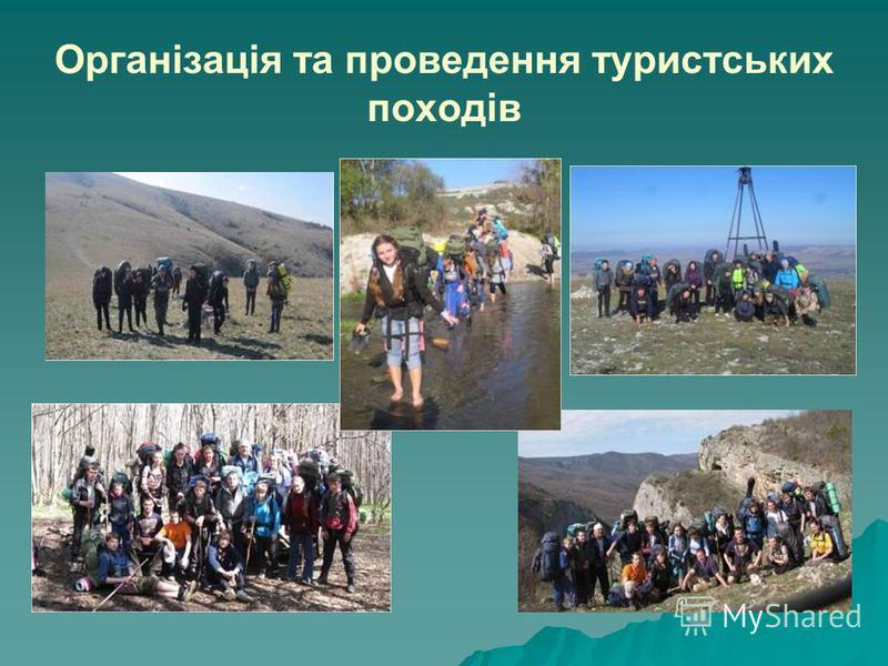 Організація та проведення туристських походів