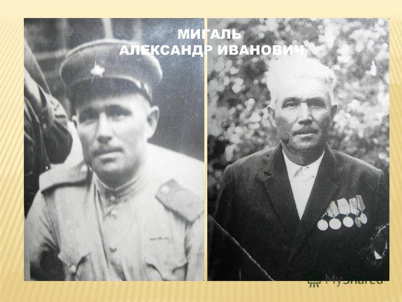 МИГАЛЬ АЛЕКСАНДР ИВАНОВИЧ