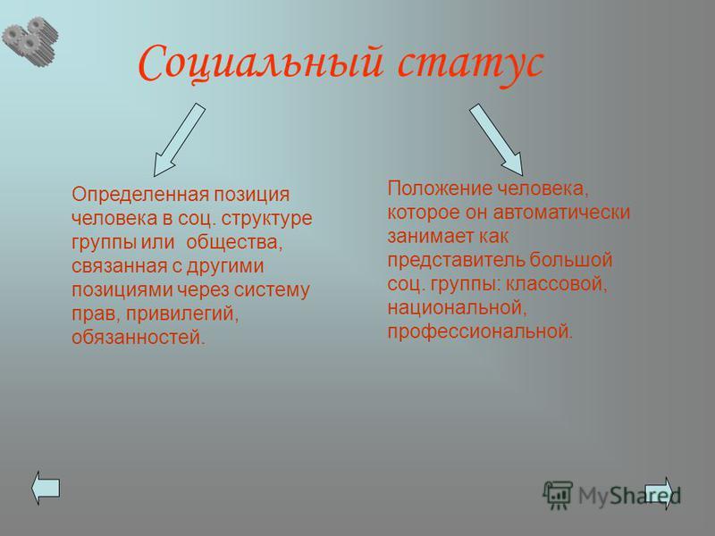 образец поведения человека определяемый его социальным статусом называется - фото 7