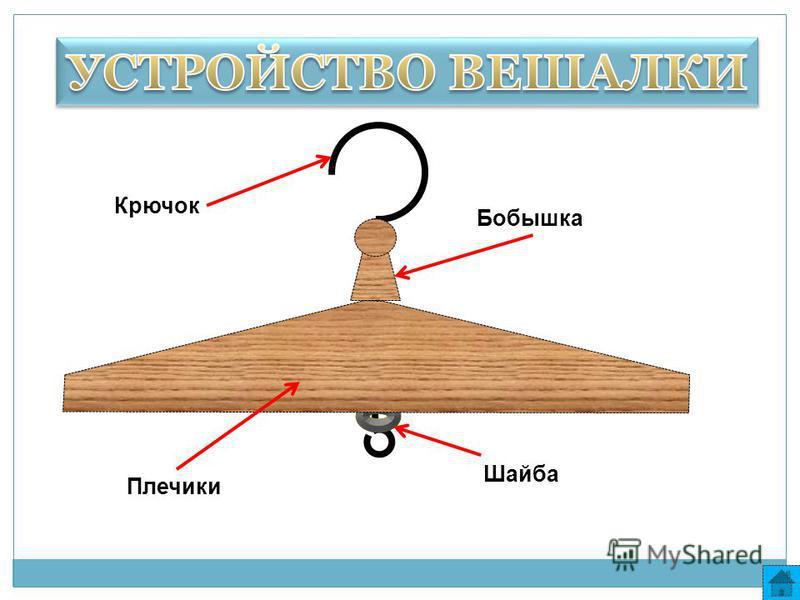 Крючок Бобышка Плечики Шайба