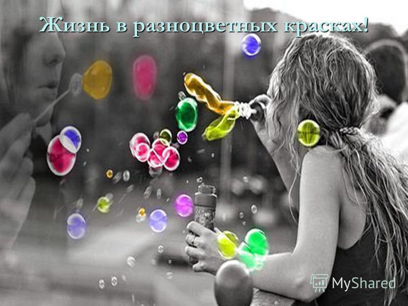 Жизнь в разноцветных красках!