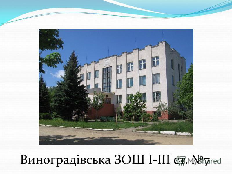 Виноградівська ЗОШ I-III ст. 7