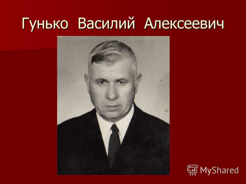 Гунько Василий Алексеевич