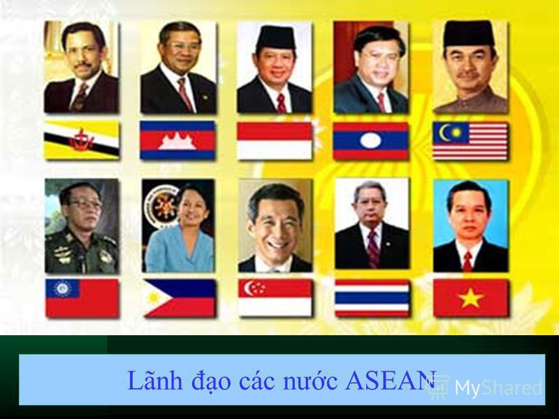 Lãnh đo các nưc ASEAN