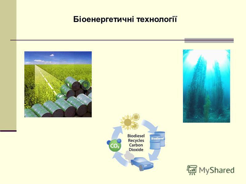 Біоенергетичні технології