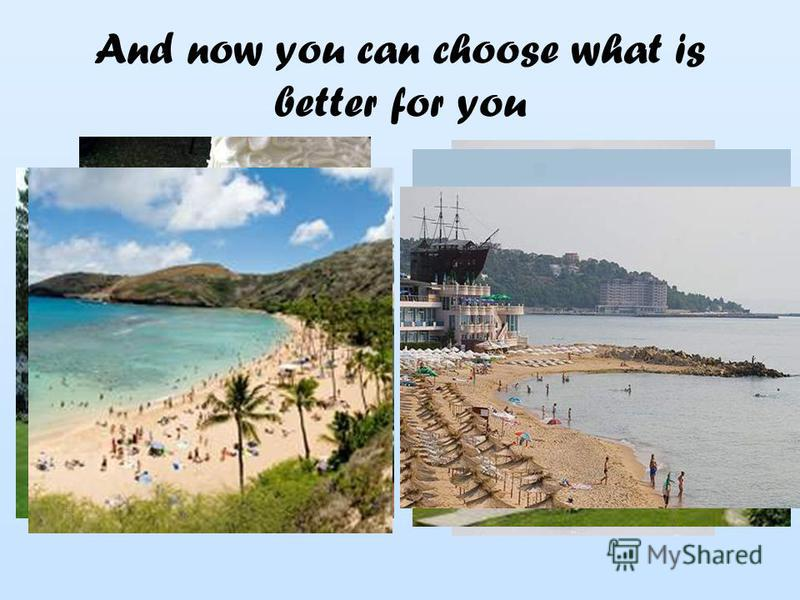 And now you can choose what is better for you