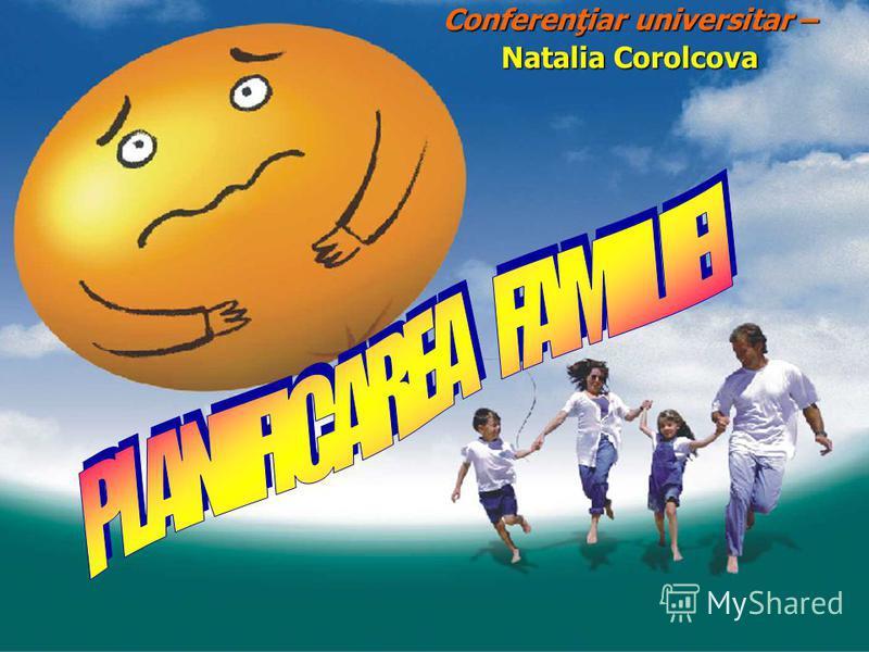 Conferenţiar universitar – Natalia Corolcova