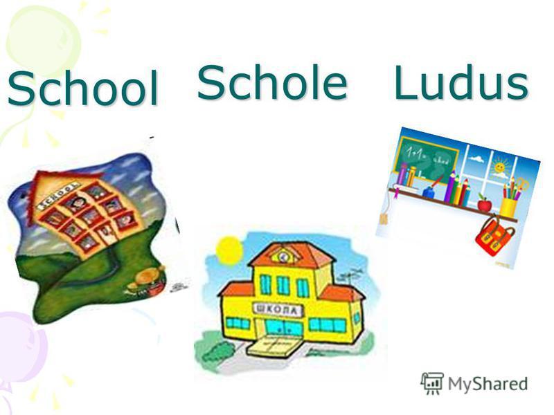 School ScholeLudus