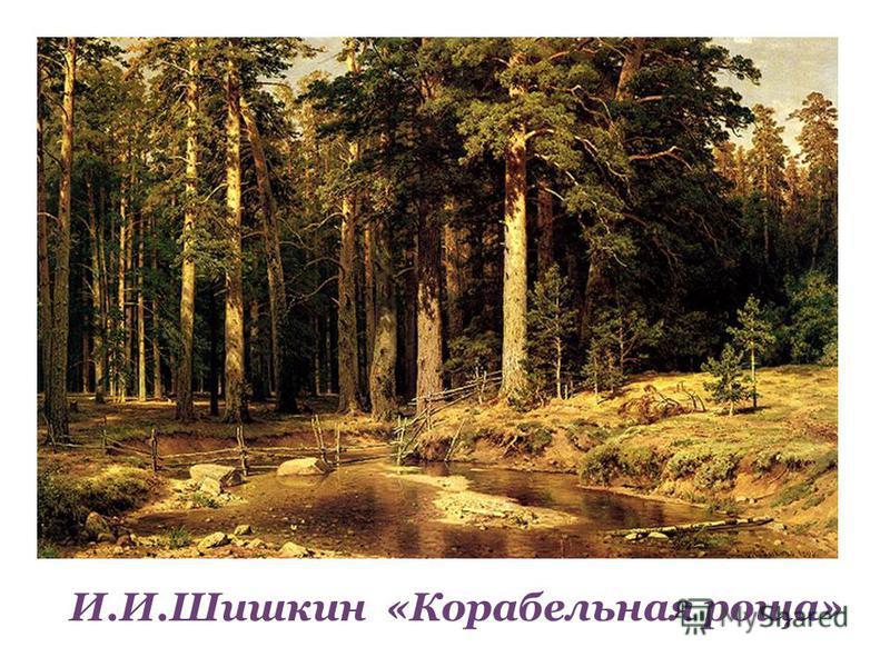 И.И.Шишкин И.И.Шишкин «Корабельная роща»