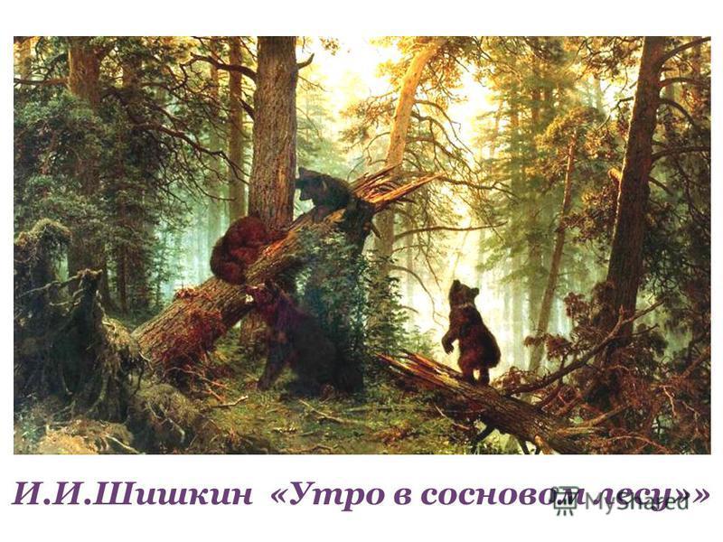 Утро в лесу зимой рассказ