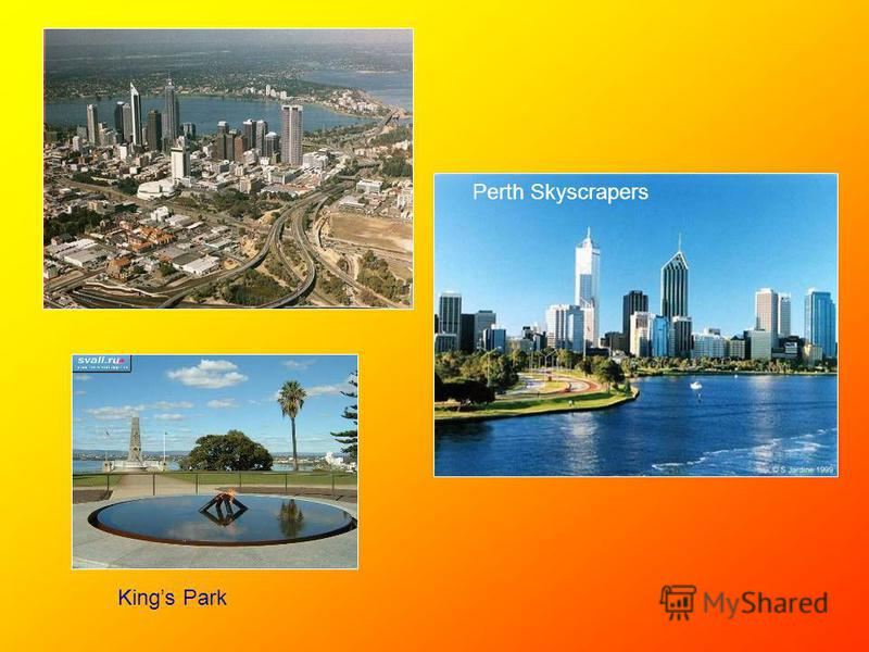Kings Park Perth Skyscrapers