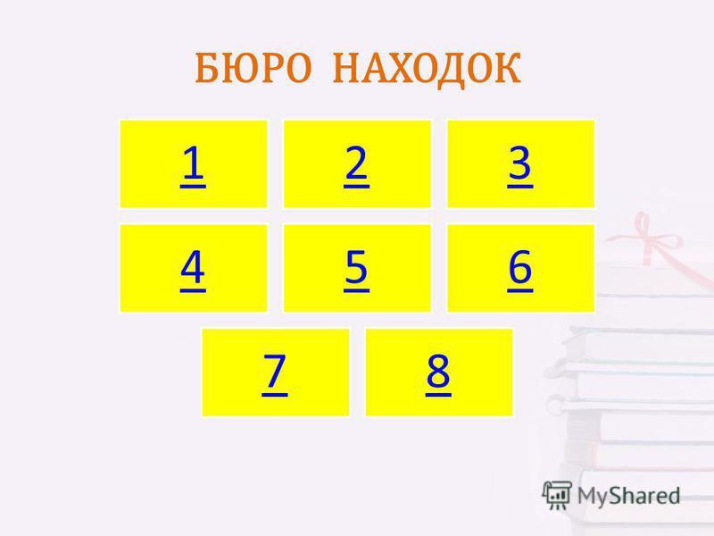 БЮРО НАХОДОК 123 456 78