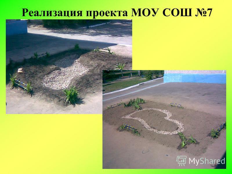 Реализация проекта МОУ СОШ 7