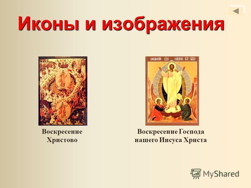 Иконы и изображения Воскресение Христово Воскресение Господа нашего Иисуса Христа