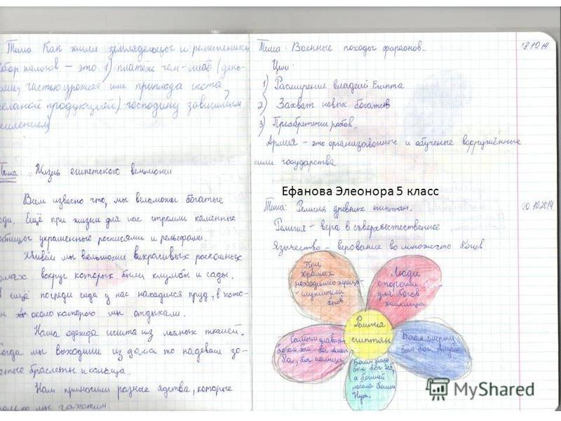 Ефанова Элеонора 5 класс