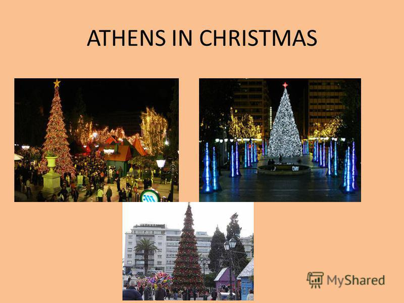 ATHENS IN CHRISTMAS
