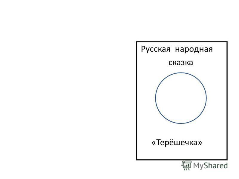 Русская народная сказка «Терёшечка»