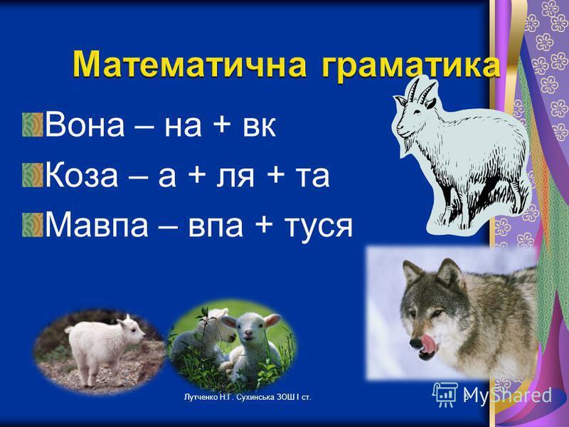 5 Вона – на + вк Коза – а + ля + та Мавпа – впа + туся