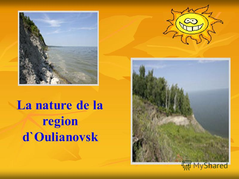 La nature de la region d`Oulianovsk