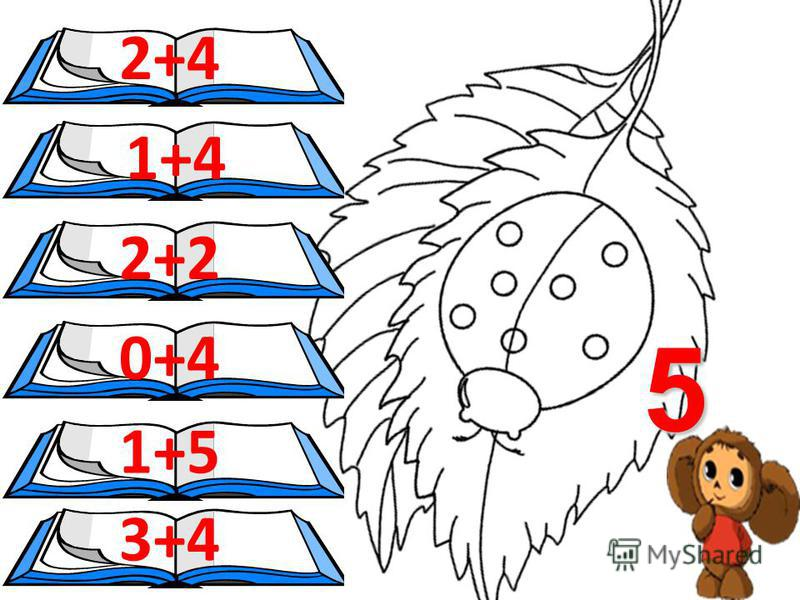 Математична розмальовка Склад числа 5 Оформлення. Головач М.В.- вчитель Придорожнянської ЗОШ І ст. Придорожнянської ЗОШ І ст.