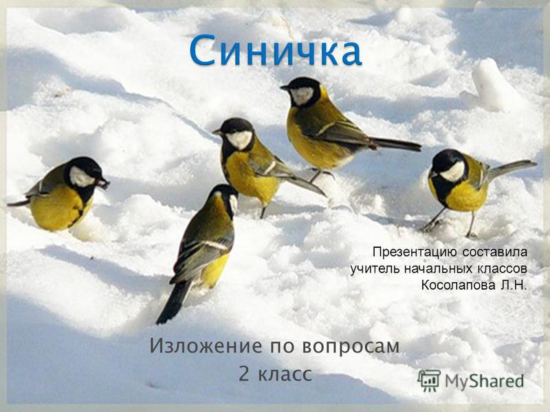 Изложение по вопросам 2 класс Презентацию составила учитель начальных классов Косолапова Л.Н.