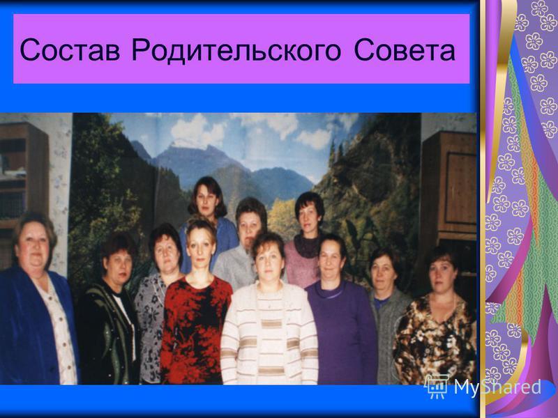 Состав Родительского Совета