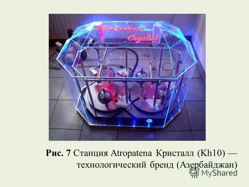 Рис. 7 Станция Atropatena Кристалл (Kh10) технологический бренд (Азербайджан)