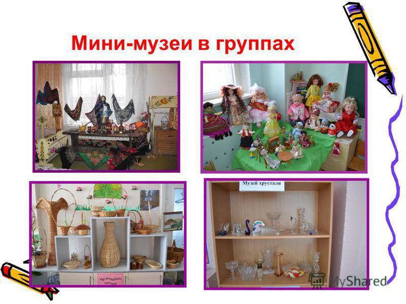 Мини-музеи в группах